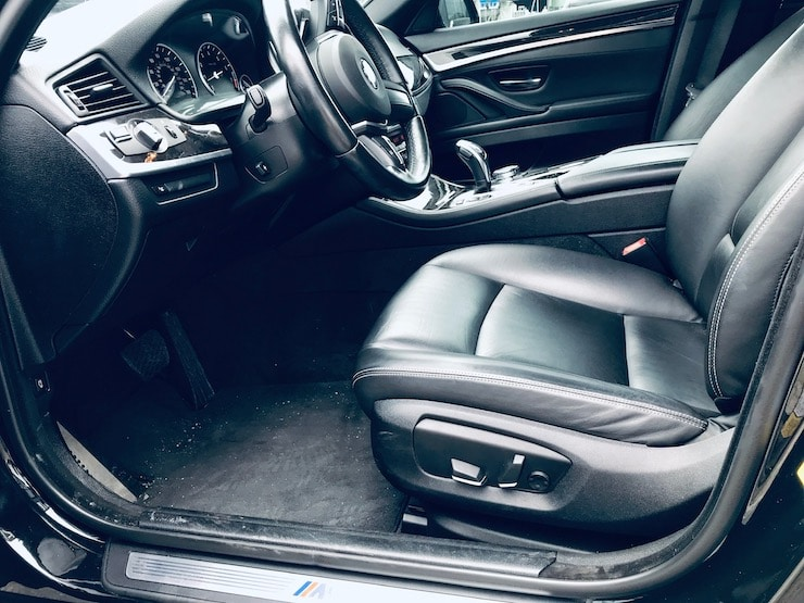 BMW-F10-535i-黑