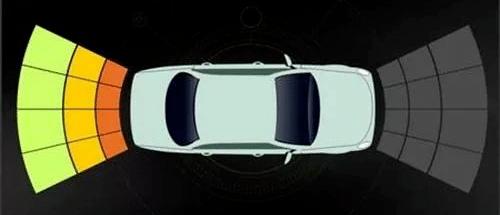 Benz 前置、倒車雷達