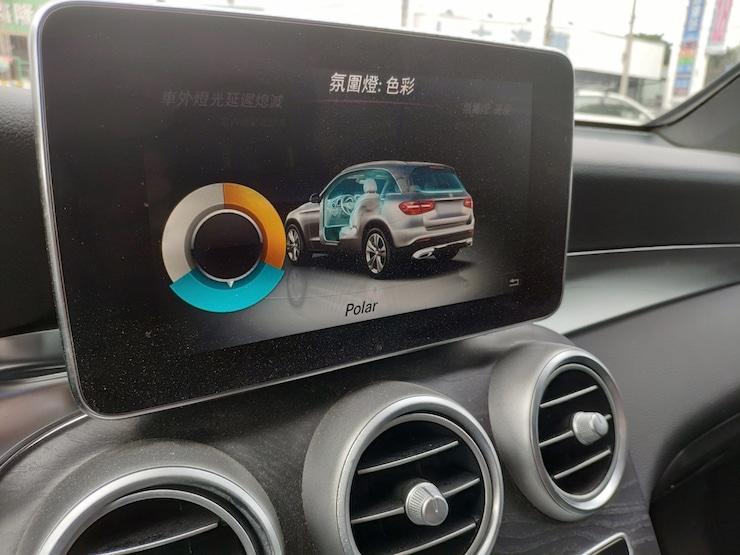 2016 Benz(賓士) X253 GLC300 4MATIC AMG LINE 白