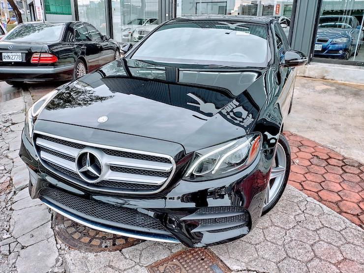 2016/17 Benz(賓士) W213 E300 黑 AMG Line
