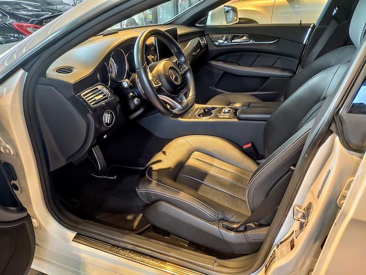 2016 Benz(賓士) W218 CLS400 白 AMG Line 360環景+按摩椅