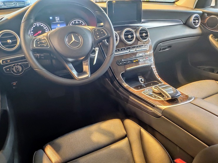 2016 Benz X253 GLC300 4MATIC 白-360環景+自動停車