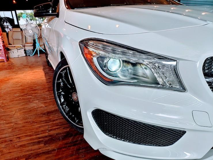 2016 Benz(賓士) C117 CLA250 白