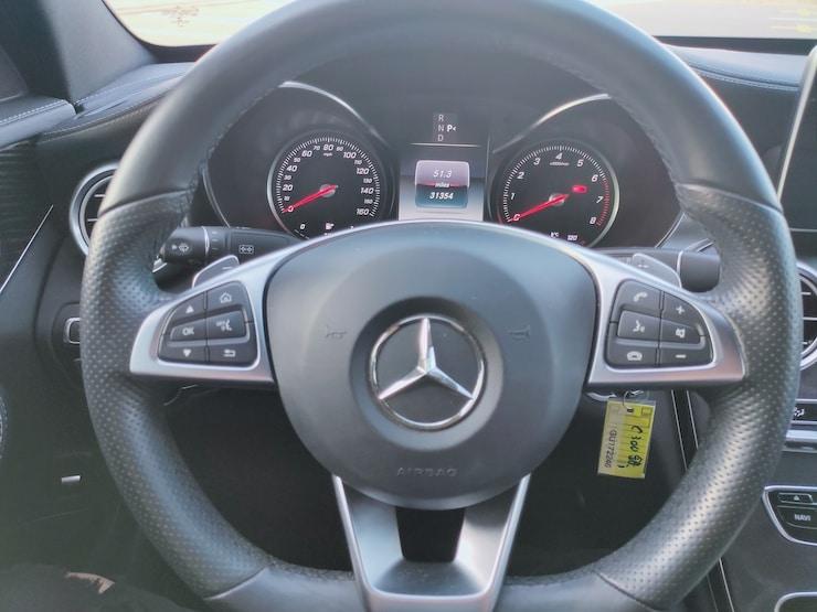 2016 賓士 Benz W205 C300 水泥銀灰 黑梣木+柏林之音 AMG Line