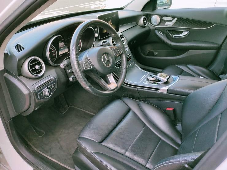 2016 Benz(賓士) W205 C300 白 柏林之音 黑岑木 18吋鋁圈