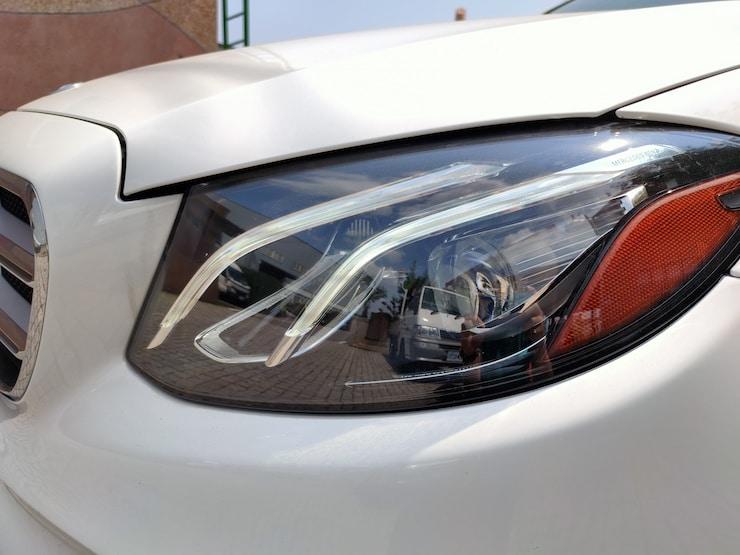 2016/17 Benz(賓士) W213 E300 白 AMG Line 黑梣木飾板