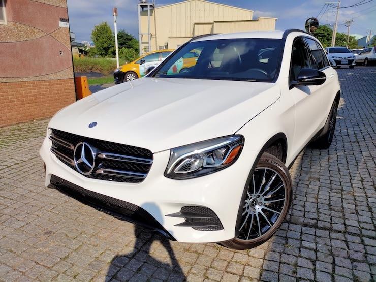 2017 Benz X253 GLC300 AMG 夜色套件 LED魚眼 白色