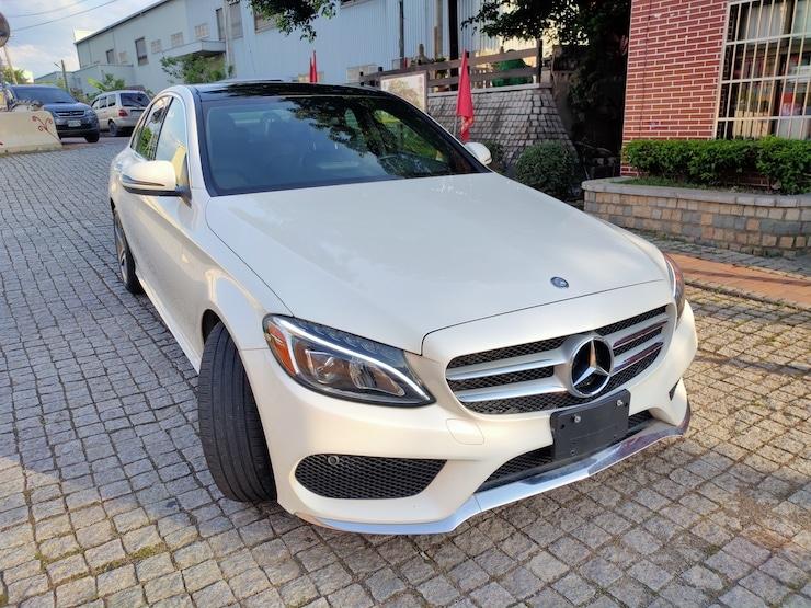 2016 Benz W205 C300 AMG 珍珠白 柏林之音 低里程