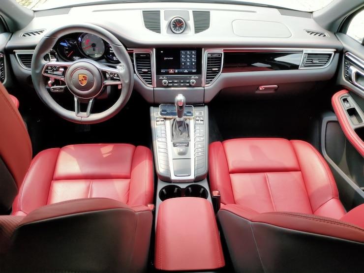 2017 Porsche Macan S 紅皮椅 + 動態轉向頭燈 + 盲點警示 + BOSE音響 白色