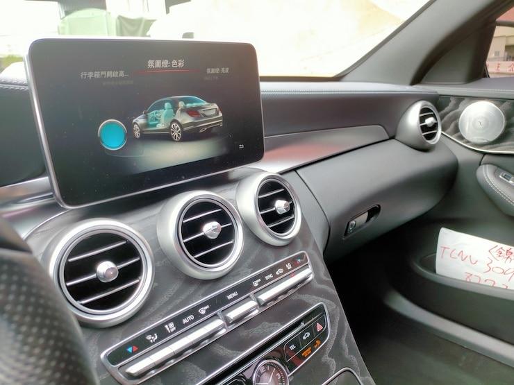 2016 Benz W205 C450 4MATIC AMG 黑 滿配 23P+環景+HUD