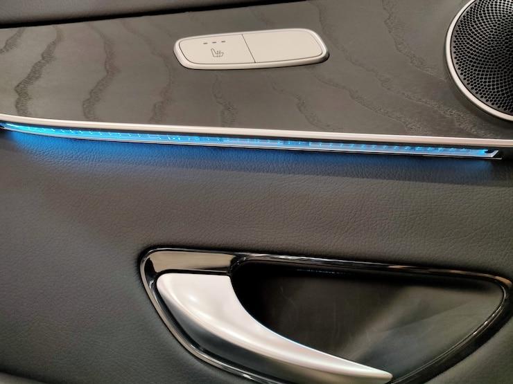 2016 Benz X253 GLC300 4MATIC 灰 AMG + 黑梣木 + 氣氛燈