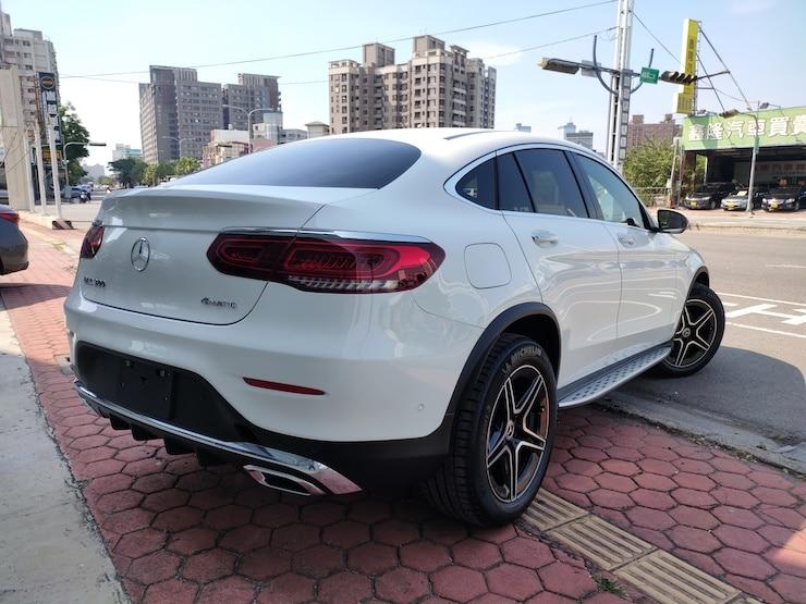 2021式 Benz GLC300 Coupe AMG 4MATIC EQ Boost M264 外匯全新車
